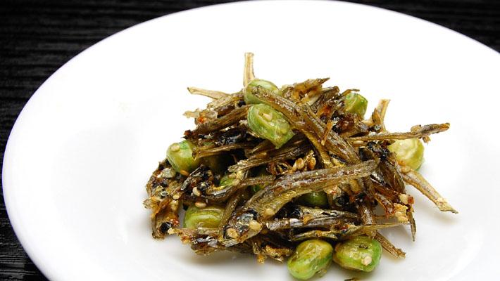 オキナガの佃煮 『豆いりこ』