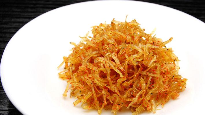 オキナガの佃煮 『明太白魚』